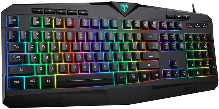 PICTEK RGB Gaming Keyboard Review - Best Keyboard for Gaming under 30 Dollars!