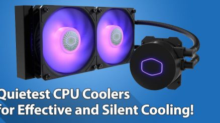 Quietest CPU Cooler for Silent Liquid Cooling!