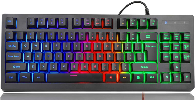 RGB 87 Keys Gaming Keyboard Review