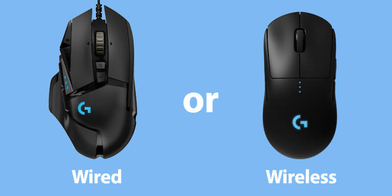 Wired Gaming Mouse or Wireless Gaming Mouse?