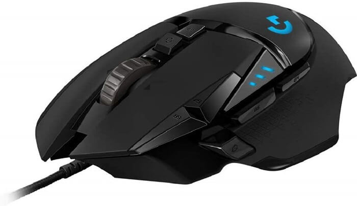 Logitech G502 Hero Gaming Mouse Review - Best Gaming Mouse under 50 Dollars!