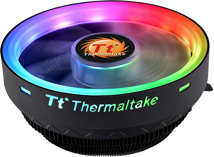 Thermaltake UX100 ARGB Review - Cheapest CPU Cooler for i5 8400!