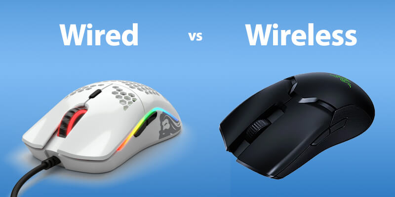 Wired vs Wireless Lightest Gaming Mice