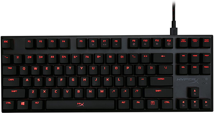 HyperX Alloy FPS Pro Keyboard Review - Best Gaming Keyboard for Valorant!