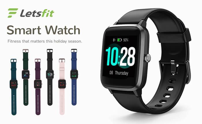 Design - Letsfit Smartwatch Review