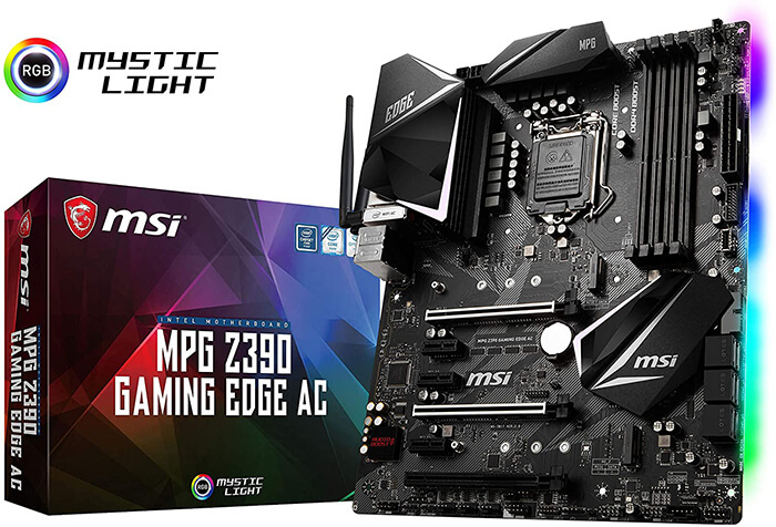 MSI MPG Z390 Gaming Edge Review - Best Gaming Motherboard for i3 9100F!