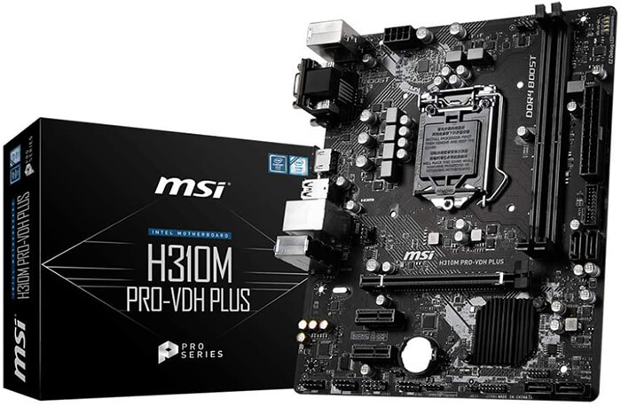 MSI VDH H310M Review - Best i3 9100F Motherboard!