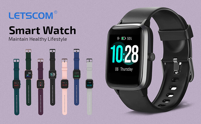 Build Quality and Display - LETSCOM Smartwatch Review