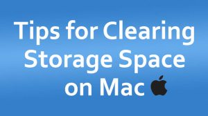 9 Tips for Clearing Storage Space on Your Mac
