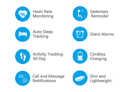All Other Features of the Letsfit Fitness Tracker