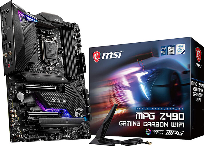 MSI MPG Z490 Gaming Carbon Review - Best Motherboard for i9 10900k for Gaming!